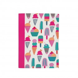 Inky A4 Exercise Book (Ice Cream)
