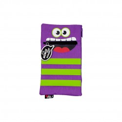 Inky Monster Pouch (Purple)