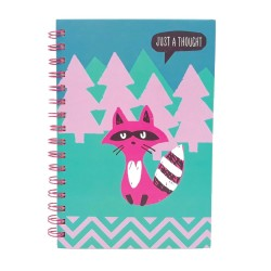 Inky A5 Wiro Notebook (Woodland)
