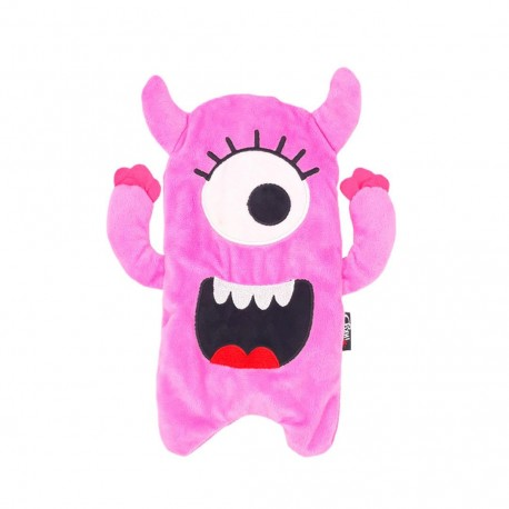 Inky Plush Pencil Case (Sweet Pink Monster)