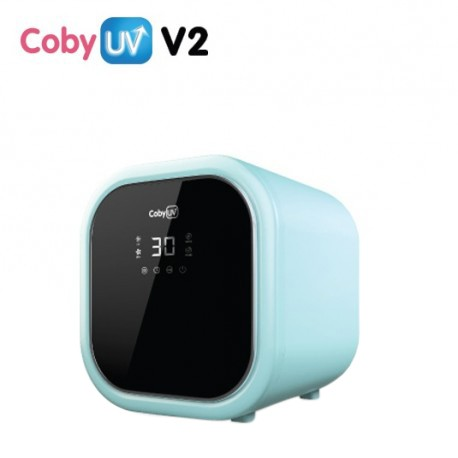 Coby UV 2.0 Sterilizer With Touch Screen ( FOC Dr.Ato Eyes & Face Wet Tissue 20pcs x 6 packs)