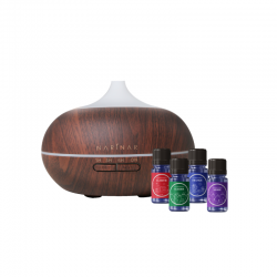 Narinar Health Goal Diffuser 300ml (Dark Wood)