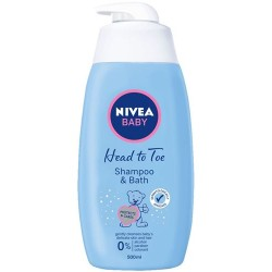 NIVEA BABY Head To Toe Shampoo & Bath 500ml