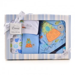 OWEN Baby 7 Piece Gift Set - BLUE