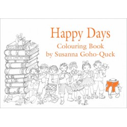OYEZ Susanna Colouring Book - Happy Days