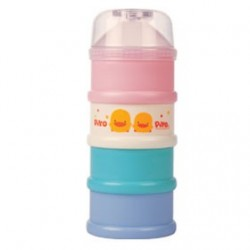 Piyo Piyo Coloured Four Layer Milk Powder Dispenser