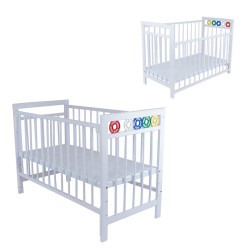 Royalcot R105 BabyCot Wooden - Multi Function (White)