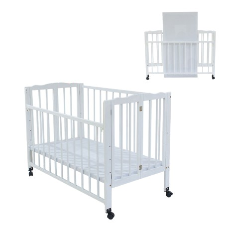 Royalcot R294 White Foldable Babycot Easy Storage