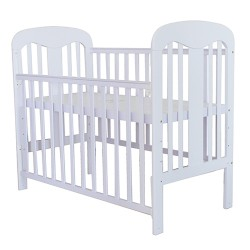 Royalcot R808 Baby Cot White