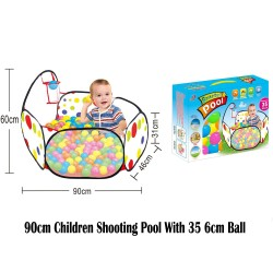 Royalcot 90cm Children Shooting Pool With 35pcs 6cm Ball
