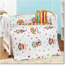 Royalcot Big Monkey Baby Cot Bedding Set