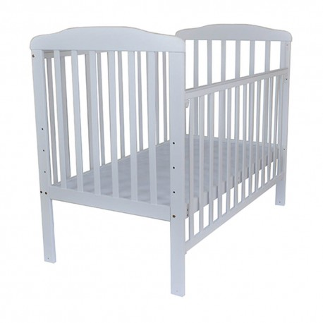 Royalcot R8310 White Large baby cot wooden