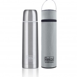 Relax Bottles 750ml 18.8 Stainless Steel Classic & Signature Thermal Flask With Free Pouch
