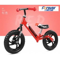 Forever AK1301 Balance Bike for Children from 2 to 6 FREE Helmet and Protection Guards (Red)