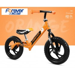 Forever AK1301 Balance Bike for Children from 2 to 6 FREE Helmet and Protection Guards (Orange)