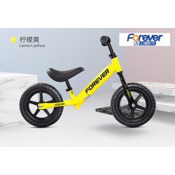 Forever FX68 Balance Bike for Children from 2 to 6 FREE Helmet and Protection Guards (Yellow)