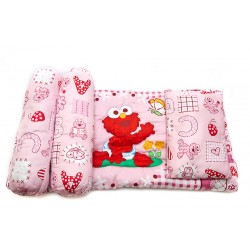 Sesame Street Beginnings Baby 4 Piece Comforter Set