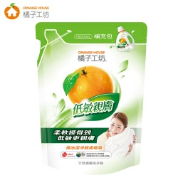 Orange House Deep Cleansing Laundry Detergent Refill Beg 1500ml