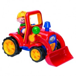 TOLO Baby Music Construction Vehicle Toy