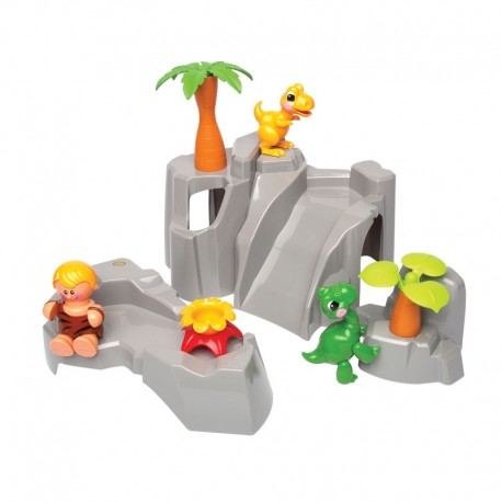 TOLO First Friends Dinosaur Jungle Play Set Toys