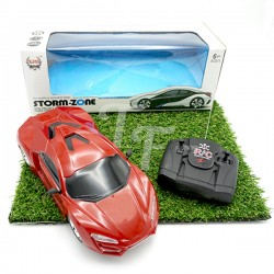 Four-Way Remote Control Sport Car With Light - Red