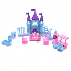 My Dream & Castle Princess Play Set (19 Pcs)