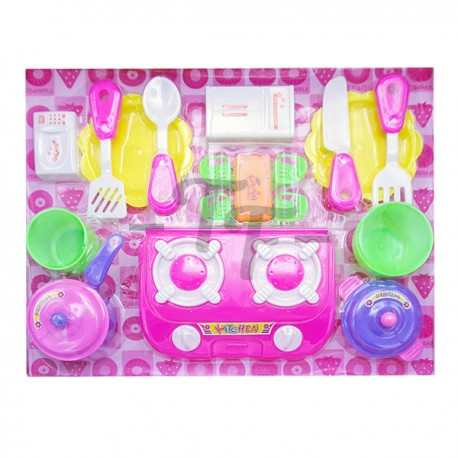 Toys Funtastic Kitchen Play Set - Lovely Tableware Series