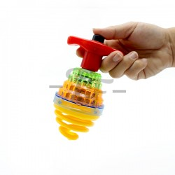 Laser Led Top Spinning Toy With Flashing Lights & Sounds