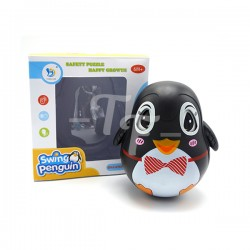 Toys Funtastic Lovely Penguin Roly-Poly Infant Toys - Black