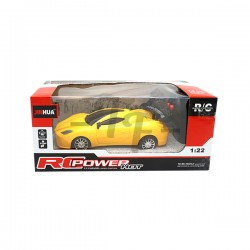 Toys Funtastic Mini Two-Way Rc(Remote Control) Sport Car, Yellow
