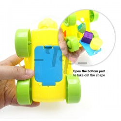 Toys Funtastic Infant Shape Sorter Blocks Squirrel Pull Toys