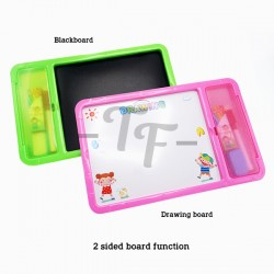 Toys Funtastic Educational Learning Writing/Drawing Board Set - Blue