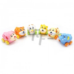 Toys Funtastic Infant Push And Go Rocking Animal Toys  - Model C