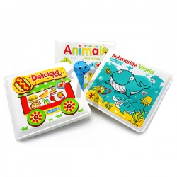 Toys Funtastic Baby Earlier Learning Educational Bath Book - Animals