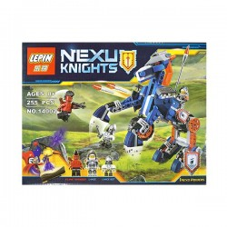 Lepin Knights Building Blocks Lance's Robot Horse with Jestro Lance Mini-figure