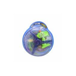 Toys Funtastic Flying Saucer Toy With Blinking Neon Light