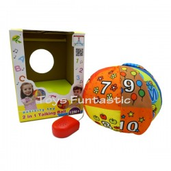 Toys Funtastic 2 in 1 Educational Talking Ball - Numbers and Alphabet