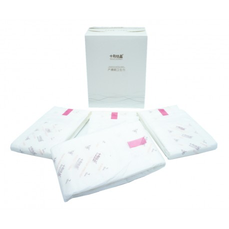 Trendyvalley -  (3 Boxes X 8pcs) Postpartum Sanitary Napkin Pad - Extra Large (42cm)