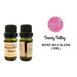 Trendyvalley Homemade Organic More Milk Blend (10ml) 2 units