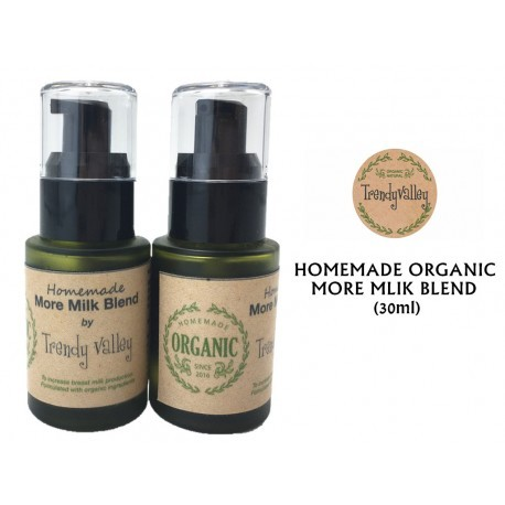 Trendyvalley Homemade Organic More Milk Blend (30ml) 1 unit