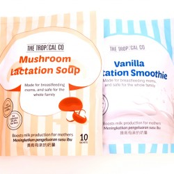 The Tropical Co. Twin Pack: Vanilla Lactation Smoothie & Mushroom Lactation Soup combo