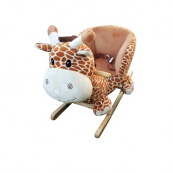 Woodalion Puff Giraffe Infant Rocker