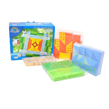 Wonder World Wooden Toys - 50 Four Creative Blocks (A 2510-WW)