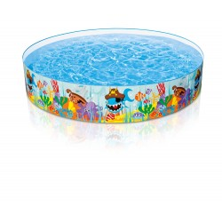 Intex (8 Ft x 18 Inch) Seashore Buddies Snapset Pool