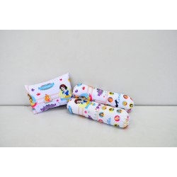 Disney Princess PVC Bag 1Pillow N 2 Bolster Set