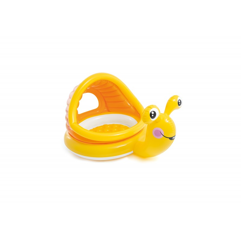 Yellow Snail Inflatable Paddling Pool Summer Children Play Pool Birthday Gift Non-Ironing Swimming Pool & Accessories