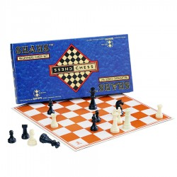 Fair World SPM Shahs Beginner Chess Set (2 unit) (M SPM 84)
