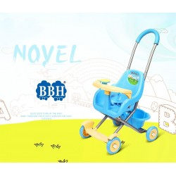 BBH 223 Baby Push Car Easy and Simple with PIPI Sound (Blue)