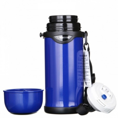 Zojirushi 0.8L S/S Bottle With Cup SJ-TG-08 (Blue)